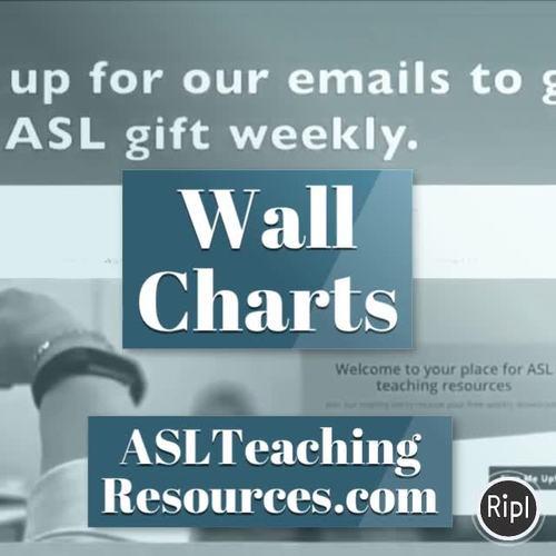 Writing Prompts, ASL Sign Language