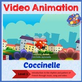 French Immersion - Coccinelle demoiselle - Video Animation