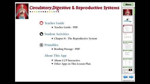 The Reproductive System - MAC Gr. 3-8