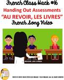"16 French Class Transition Video ""Time for Assessment"" for"