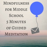 Guided Mindfulness Meditation 5 Minute Breathing Exercise