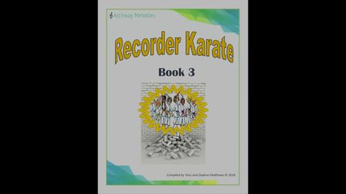Recorder Karate Book 3