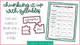 Decoding Multi-Syllable Words with Syllabication Tutorial