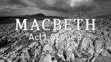 Line by Line: Shakespeare's Macbeth (1.3)