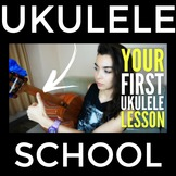 Your FIRST Ukulele Lesson (Ukulele Beginner Lesson By A Mu