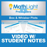 Box and Whisker Plots Video Lesson with Student Notes