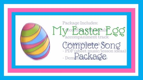 """Easter Individual Response Song 