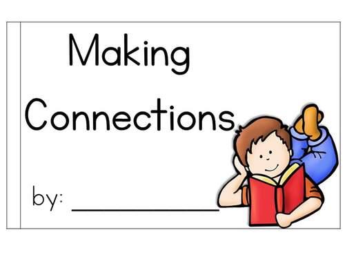 Making Connections Interactive Mini Book {RI.3.3}