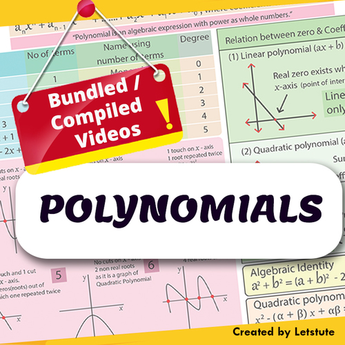 a7ca1a8ae591 Mathematics Polynomials (compiled session) Algebra by Letstute