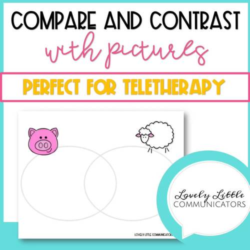 Compare and Contrast Similarities and Differences No Print or Low Ink