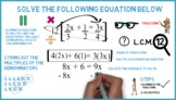 Equations (Fractions): Whiteboard Animation
