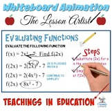 Evaluating Functions #1: Whiteboard Animation