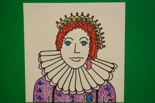Let S Draw Queen Elizabeth 1st By Patty Fernandez Artist Tpt