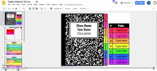 Digital Interactive Notebook Essentials