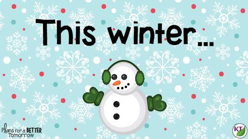 Christmas and Winter STEM Challenges: 5-in-1 Bundle