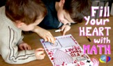 Fill Your Heart Addition and Subtraction Math Game Support VIDEO