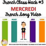 "3 French Class Transition Video ""Wednesday"" for CI TPRS an"