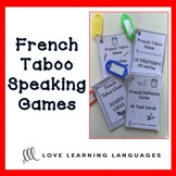 French TABOO speaking game - How to play + FREE GAME
