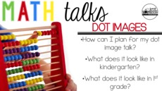 Math Talks Model Lesson: Dot Images (Professional Development Video)