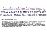New Math for Families: Using the Break Apart Strategy to Subtract