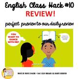 English ESL ELL EFL ELD ESOL Transitional Video Review for