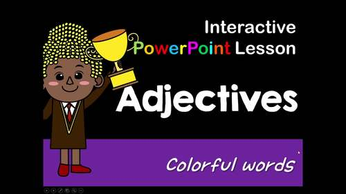Adjectives Interactive PowerPoint