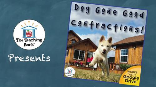 Dog Gone Good Contractions Literacy Center