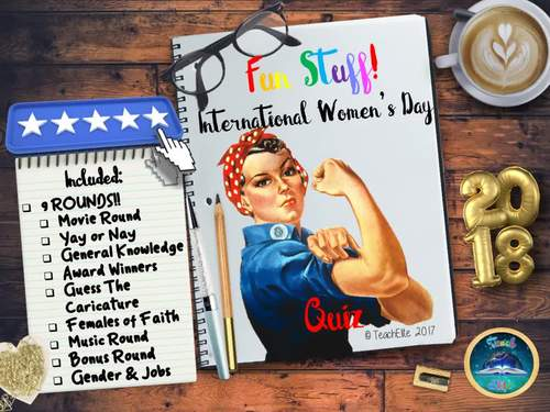 International Women's Day : International Women's Day Quiz 2018