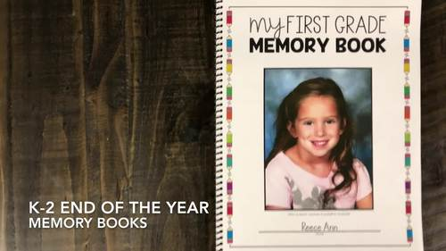 End of the Year Memory Book | End of the Year Activities