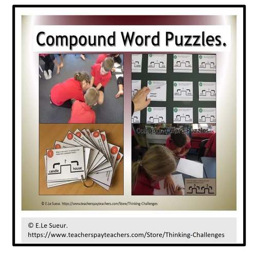 Compound Word Puzzles Mega Pack