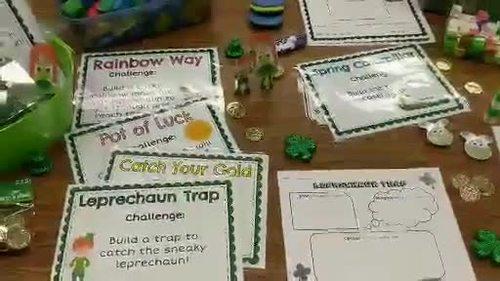 March STEM / STEAM Challenge Freebie