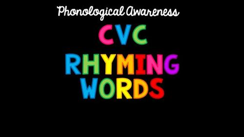 CVC Rhyming Words PowerPoint Game