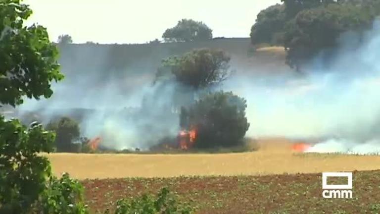 Controlado el incendio forestal de Villar de Olalla, Cuenca
