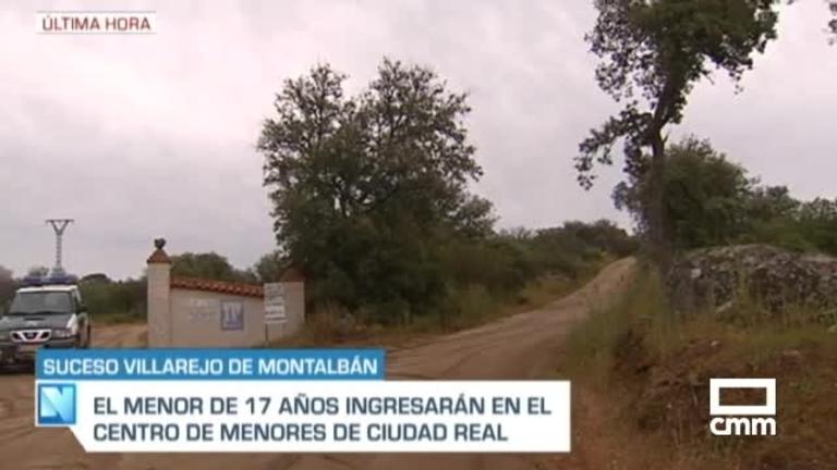Ordenan el internamiento del presunto autor del doble crimen de Villarejo de Montalbán (Toledo) en un centro de menores de Ciudad Real
