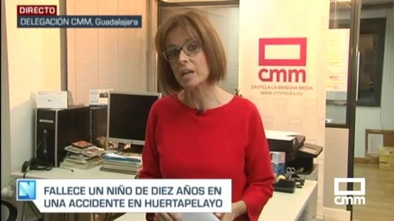 Muere un menor en un accidente en Guadalajara