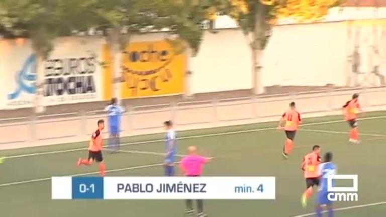 CD Madridejos - Villarrubia CF (2-2)