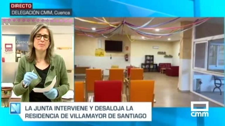 Trasladan a otros centros a 65 mayores de la residencia de ancianos de Villamayor de Santiago (Cuenca)