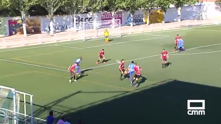 CD Madridejos - CD Azuqueca (0-2)