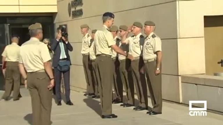 Felipe VI inaugura una exposición en el Museo del Ejército de Toledo
