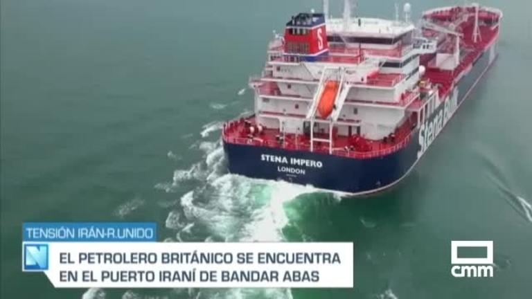 Irán captura un petrolero británico en el estrecho de Ormuz