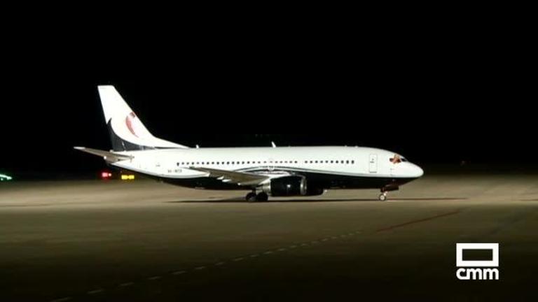El Aeropuerto de Ciudad Real recibe su primer avión en ocho años