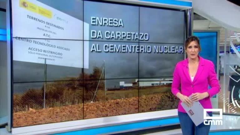 La plataforma anti-ATC alerta de que la renuncia de Enresa no es el fin del \'cementerio nuclear\'