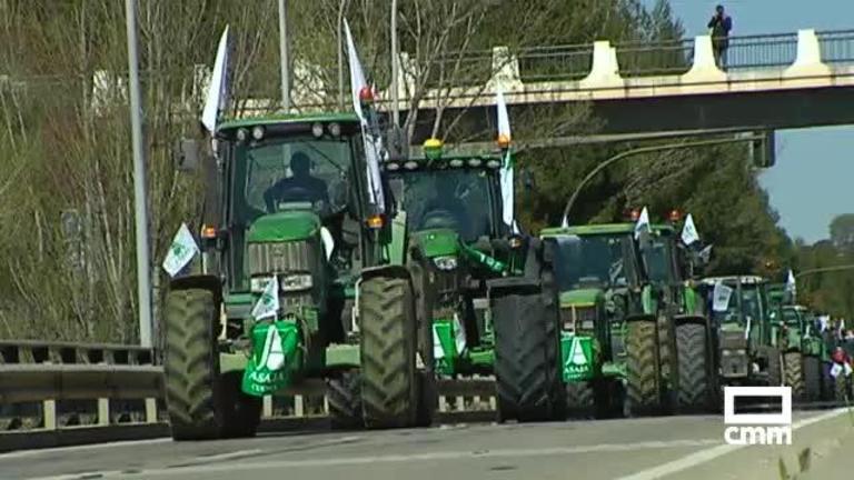 Los agricultores de Cuenca cortarán el tráfico en la capital el 10 de marzo