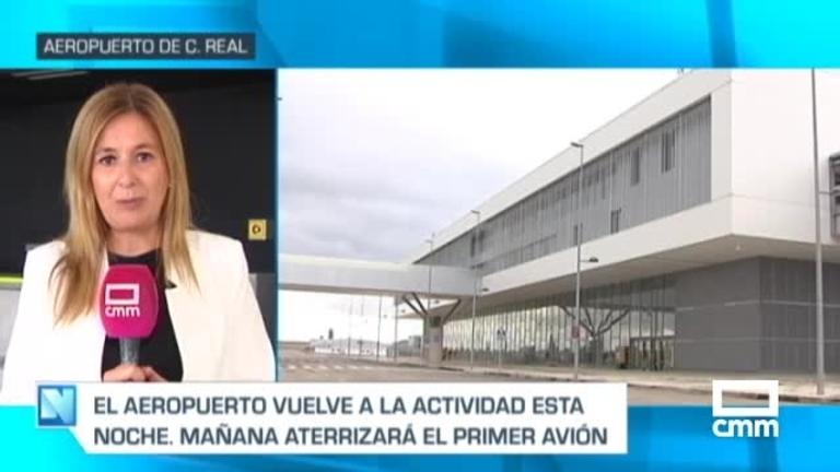 El aeropuerto de Ciudad Real reabre esta madrugada