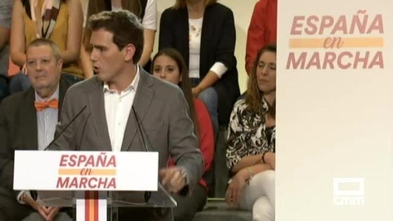 Albert Rivera se abre a pactar con el PSOE para que haya gobierno tras el 10N