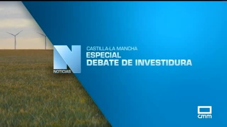 Primera sesión del Debate de Investidura de Emiliano García Page