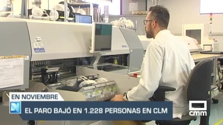 El paro en Castilla-La Mancha baja en 1.228 personas en noviembre