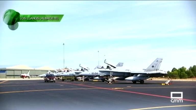 De guardia en la Base Aérea de Albacete