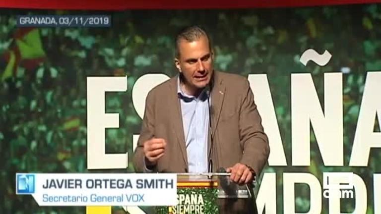 Vox: Abascal prepara el debate; Ortega Smith, en Granada