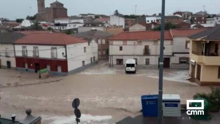 Vuelven las inundaciones a Cebolla por las tormentas